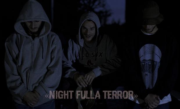 """Visuel du projet Clip """"Night Fulla Terror"""""""