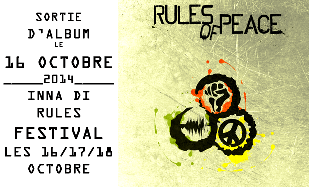 Project visual Festival et sortie d'album du Rules of Peace