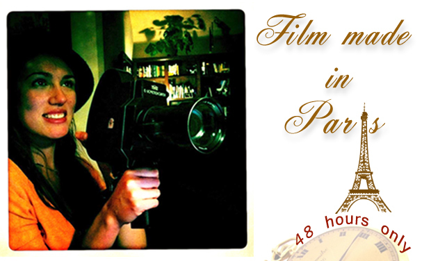"Visuel du projet Un film ""Made in Paris, in 48 hours only""!"