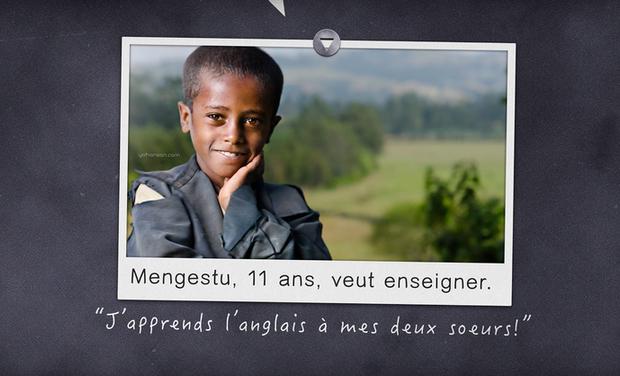 Project visual ♥ Enfance Creative d'Ethiopie !