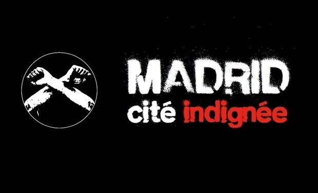 Project visual Madrid, cité indignée