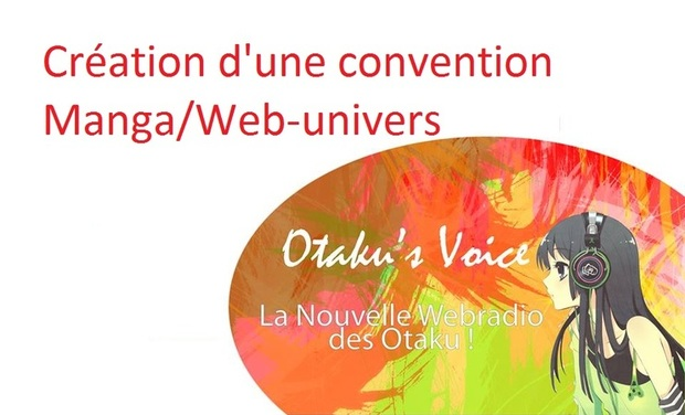 Project visual Création d'une convention Manga/Web
