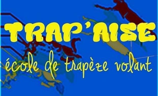 Visuel du projet TRAP'AISE école de trapèze volant, création de spectacles