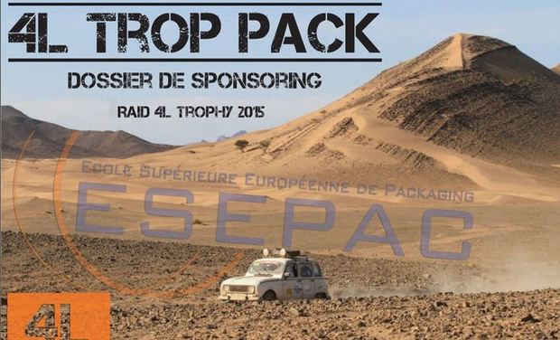 Visuel du projet 4L Trop Pack - Raid 4L trophy 2015
