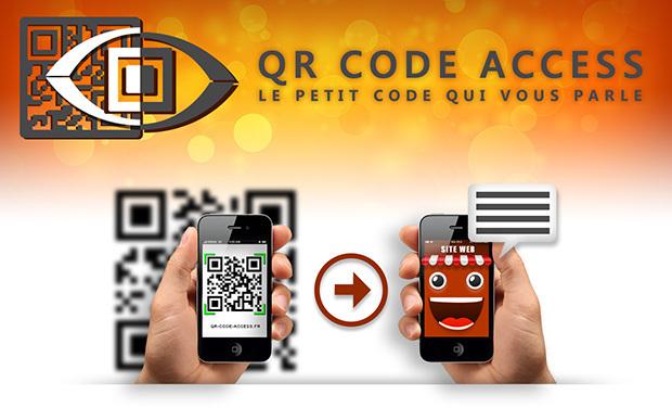 Visuel du projet QR Code Access