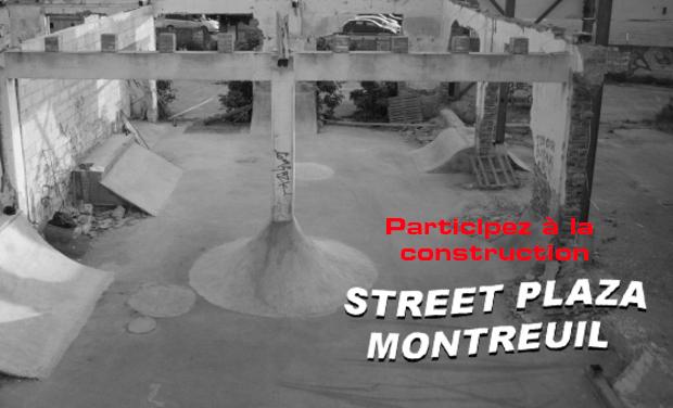 Visuel du projet Street plaza Montreuil...Fais le toi même!!