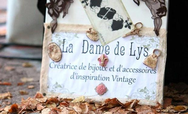 Project visual La Dame de Lys, calendrier et expositon