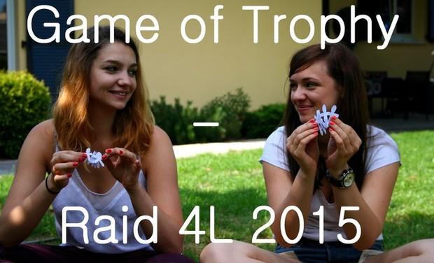 Visuel du projet Game of Trophy - Raid 4L 2015
