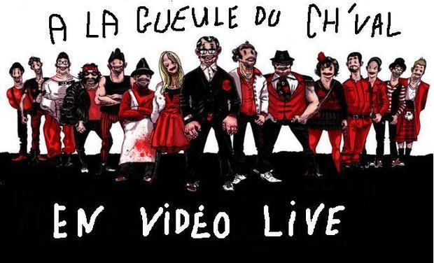 Visueel van project Financement d'une vidéo d'A la gueule du ch'val en  LIVE !