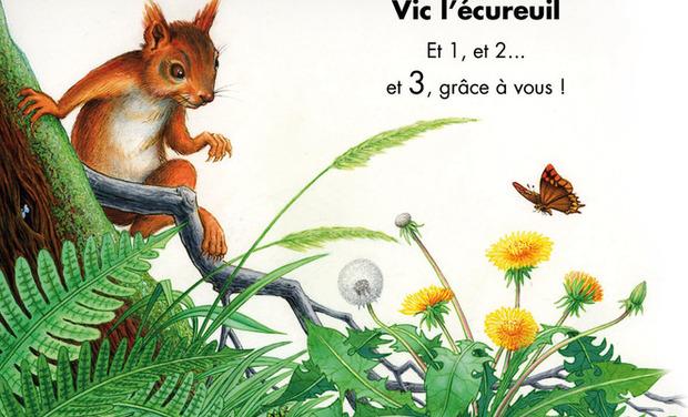 Project visual Vic l'écureuil - épisode 3