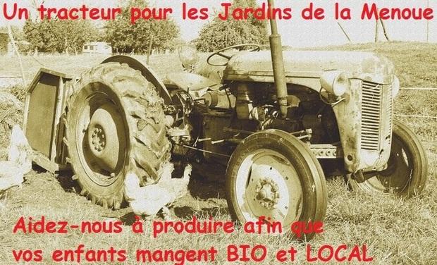 Project visual Un tracteur pour les Jardins de La Menoue