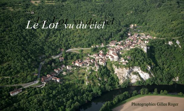 Visuel du projet Le lot vu du ciel