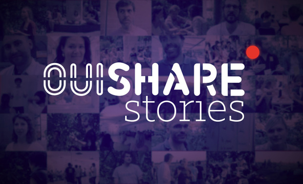 Project visual OuiShare Stories