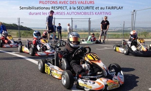 Visueel van project Soutenez notre initiative de Sensibilisation sur la Securite, le Respect et le Fairplay - Découverte du Karting