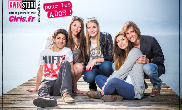 "Visueel van project Fotolovestory ""Les Girl's !"""