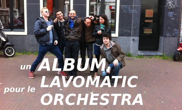 Visuel du projet Un ALBUM pour le LAVOMATIC ORCHESTRA