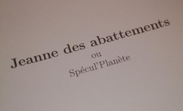 """Visueel van project """"Jeanne des Abattements""""  a besoin de vous pour voir le jour !"""
