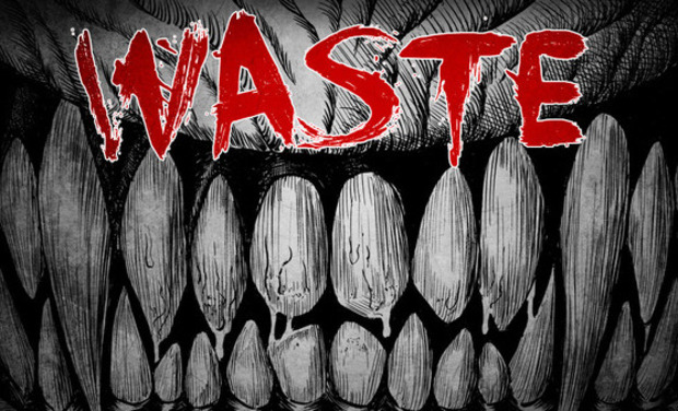"Visueel van project Manga Seinen ""WASTE"""