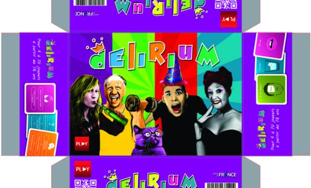 Visuel du projet Delirium : le jeu qui révolutionnera vos soirées !