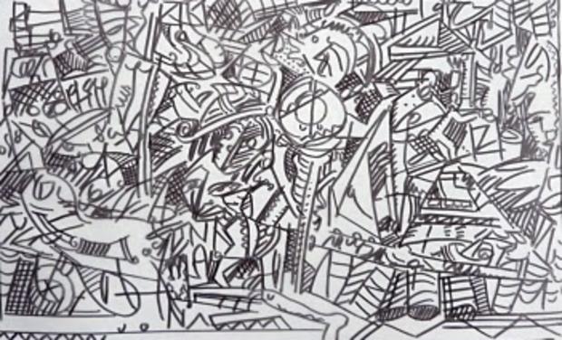 "Visuel du projet ""Paradis Perdu"":tapisseries 2"