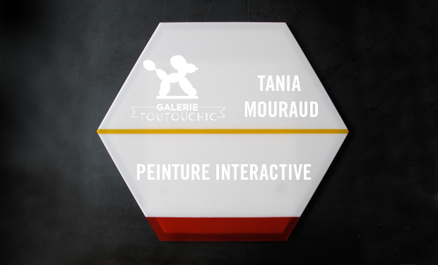 Project visual Peinture Interactive de Tania Mouraud
