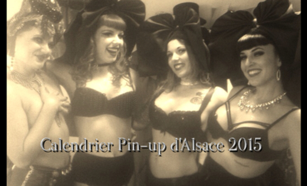 pin up d'alsace calendrier 2016