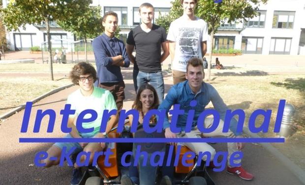 Visuel du projet E-Kart challenge international