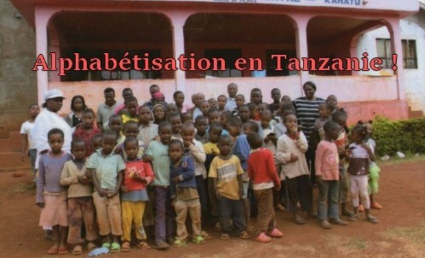 Visueel van project Alphabétisation en Tanzanie