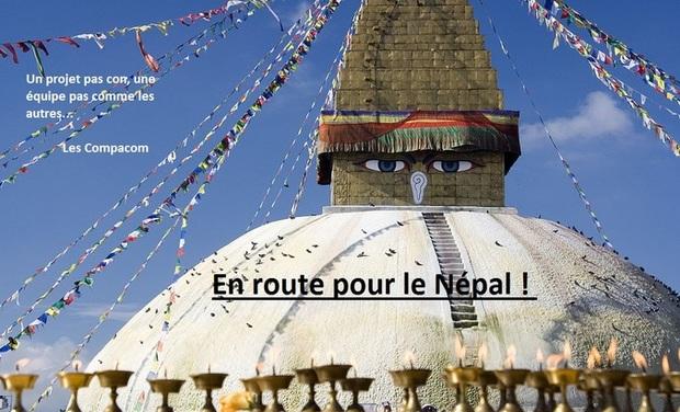 Project visual En route pour le Népal