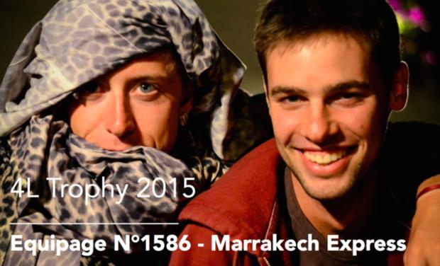 Visuel du projet Team Marrakech Express 1586 - 4L Trophy 2015