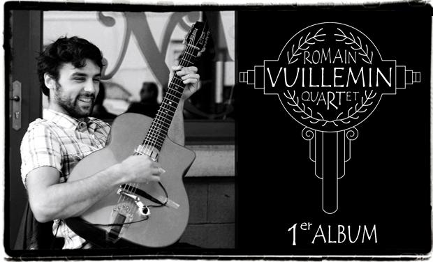 Visuel du projet Romain Vuillemin Quartet 1er Album