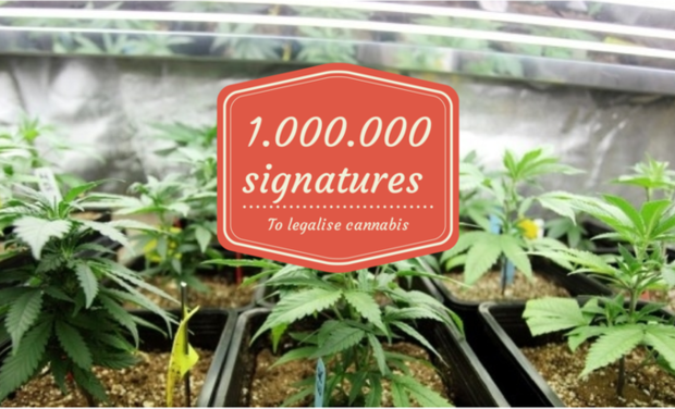Visuel du projet A Million signatures to legalise cannabis in Europe