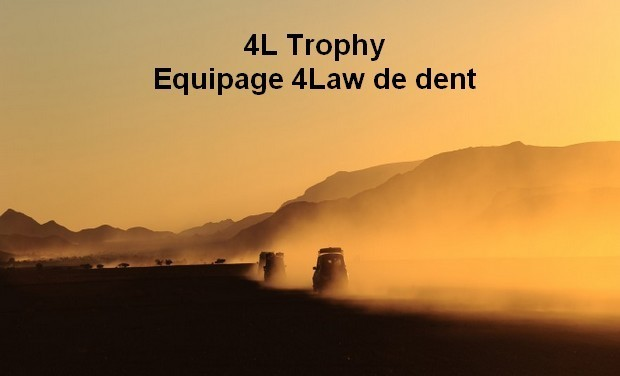 Project visual 4L Trophy - Equipage 4Law de dent