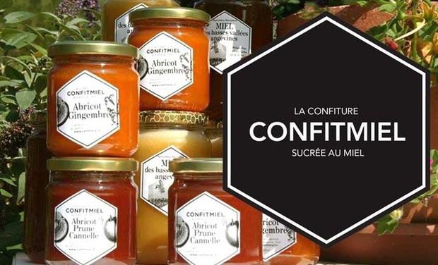 Visuel du projet La rencontre du miel et des fruits dans une confiture