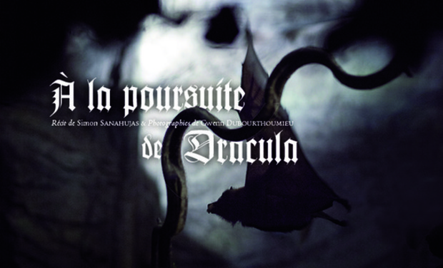 Project visual À la poursuite de Dracula