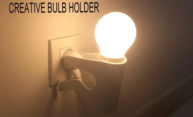Visuel du projet Creative Bulb Holder