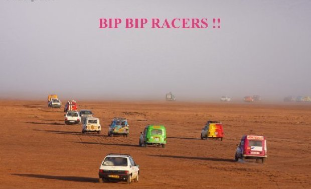 "Visuel du projet Bip Bip Racers ""Student Challenge"""