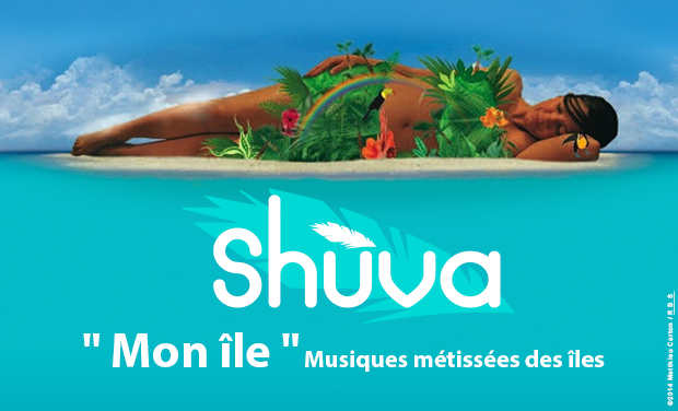 """Visuel du projet Album 5 titres """"Mon île"""" & Un clip"""