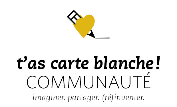 Project visual t'as carte blanche communauté