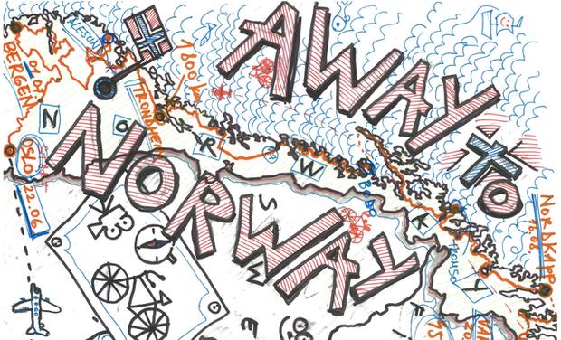 Visueel van project Away to Norway