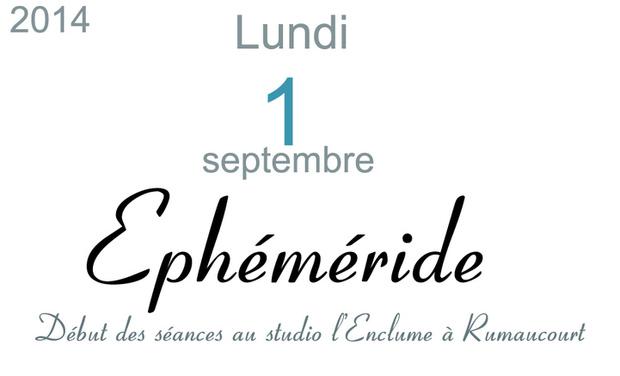 Visuel du projet Ephéméride, le troisième album de Françoise Hautfenne