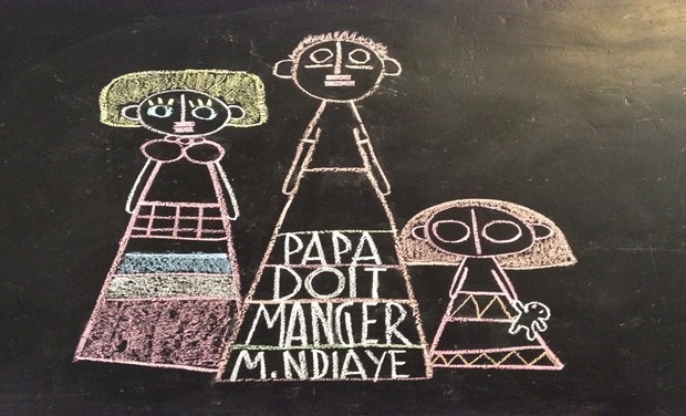 Project visual Papa doit manger