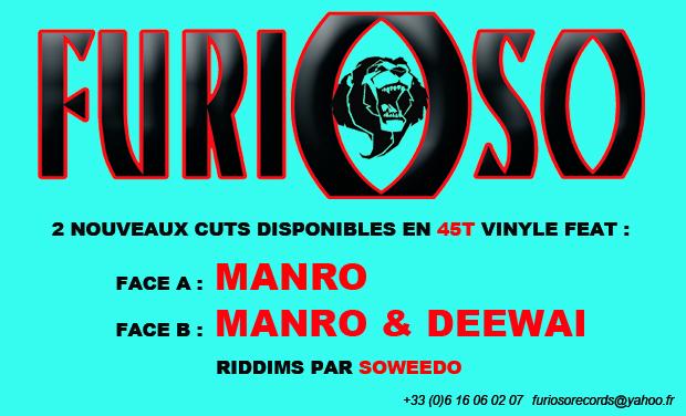 Visuel du projet Nouveau 45 tours vinyle par Furioso Records