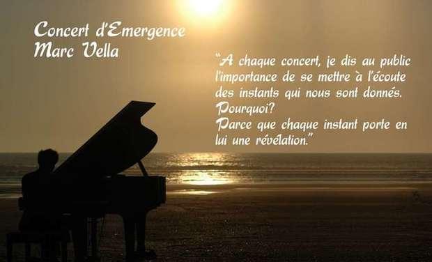 Visueel van project Concert de Marc Vella pour une Humanité Retrouvée