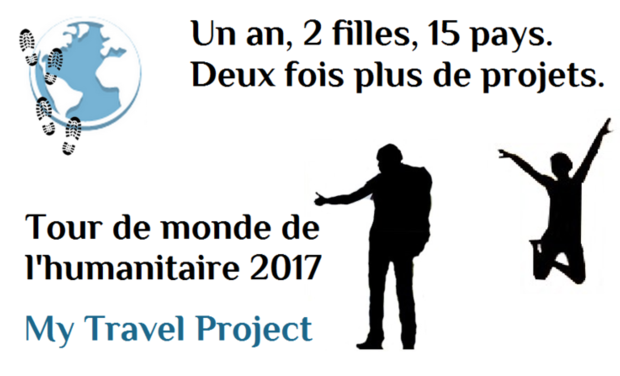 Project visual Tour du monde humanitaire - My Travel Project