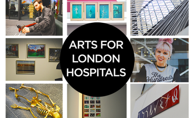 Visuel du projet Arts for London hospitals