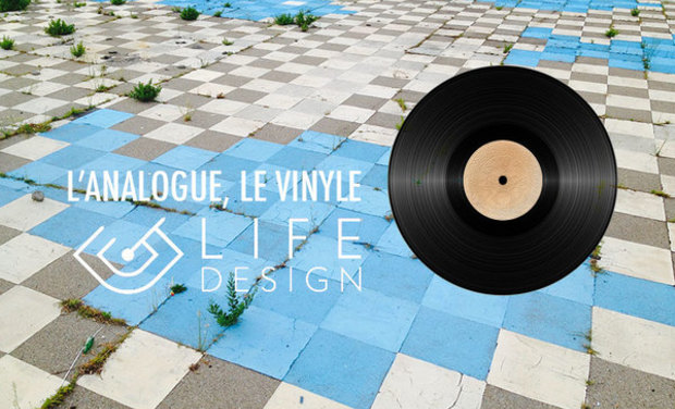 Visueel van project L'analogue, le vinyle par Life-Design