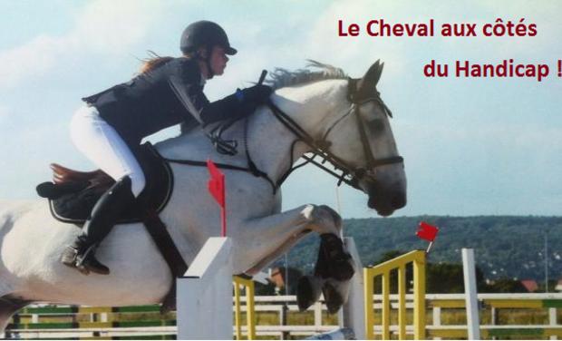 Visueel van project Le cheval aux cotés du handicap