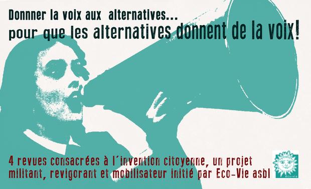 Visuel du projet Donner la voix aux alternatives