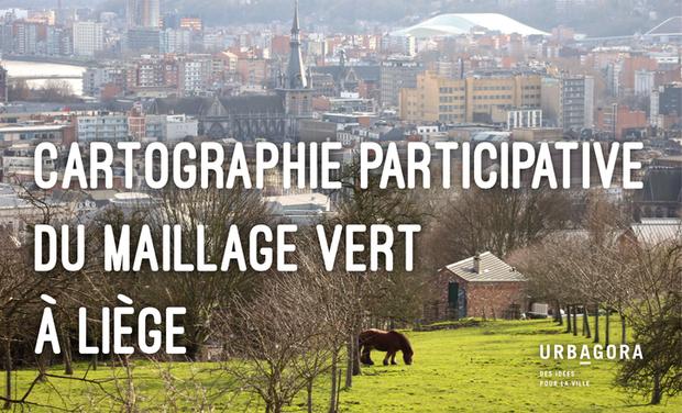 Visuel du projet Cartographie participative du maillage vert à Liège
